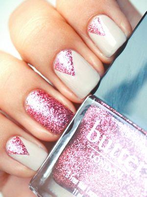 Glitter: Pink Sparkle, Nail Polish, Nailart, Makeup, Nails, Pink Glitter, Nail Design, Beauty, Nail Art