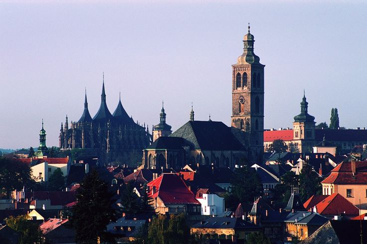 Kutná Hora- Historical downtown, Church of St. Barbora, Cathedral of Our Lady at Sedlec