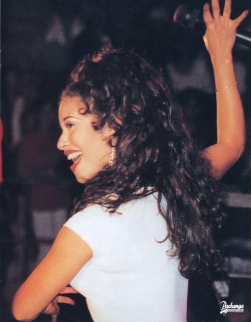 Selena Quintanilla Perez  ... i always loved her hair.