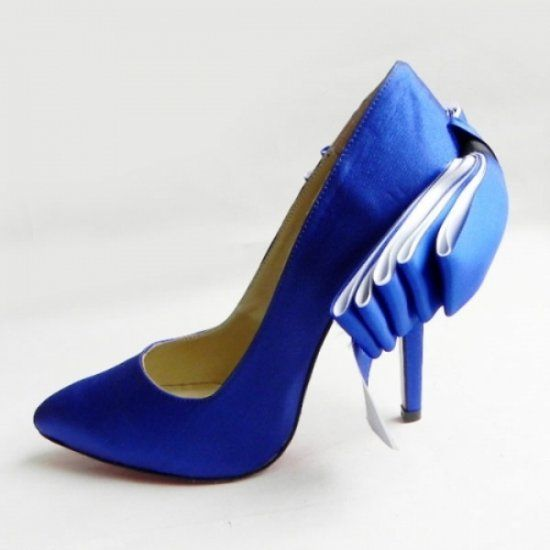 Christian Louboutin Anemone Stiletto Pump Blue