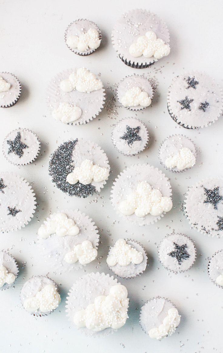 Twinkle Twinkle Litte Star Baby Shower Cupcakes | Erin Gardner | Craftsy
