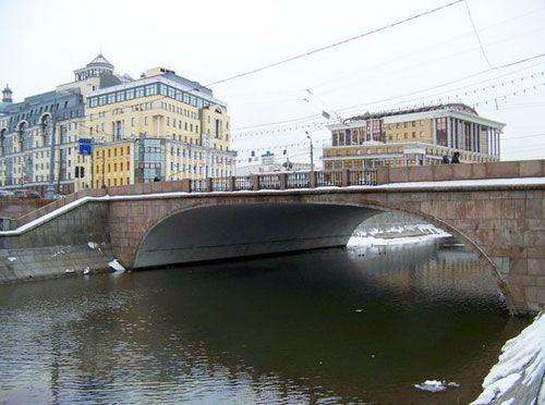 Малый Москворецкий мост в Москве | Достопримечательности Москвы