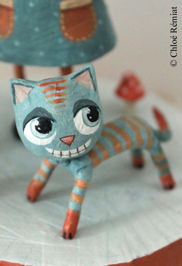 épinglé par ❃❀CM❁✿ALICE ET le chat du cheshire