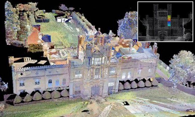 Hidden room linked to 1605 gunpowder plot revealed by 3D scans