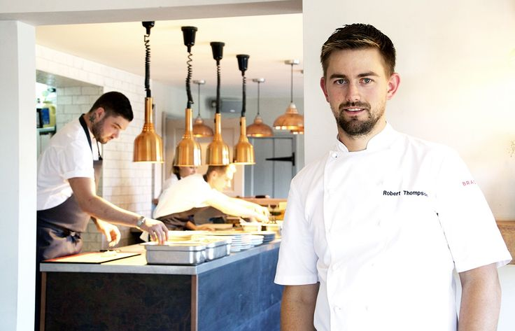 Chef Robert Thompson is the Isle of Wight's only chef to achieve a Michelin Star and enthuses a passion for local Island produce such as Garlic and Tomatoes