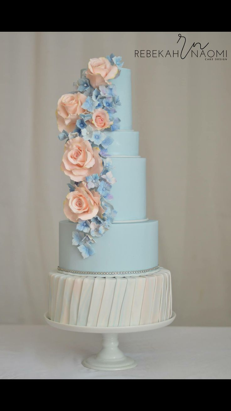 25 Best Peach Wedding Cakes Ideas On Pinterest Ivory