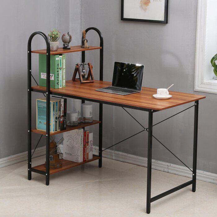 Sigismondo Desk In 2020 Modern Home Office Desk Compact Desks Desk