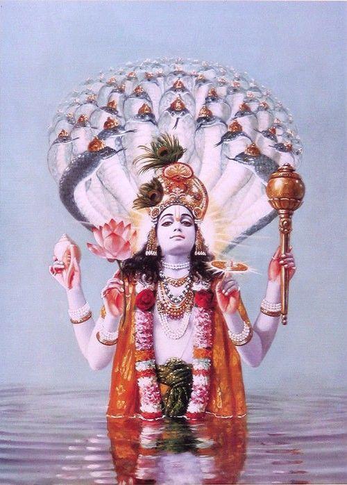 Lord Vishnu...!