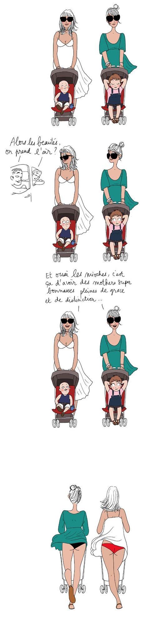 Maman au top de la distinction ... Ou pas - Margaux Motin #Humour #Maman #Illustration