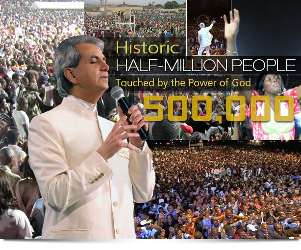 Pastor Benny Ministers to Packed Crowds in Africa - Benny Hinn Ministries