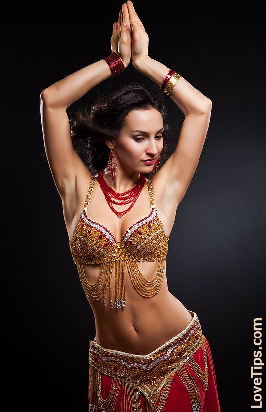 The smiles... belly dance erotica video need
