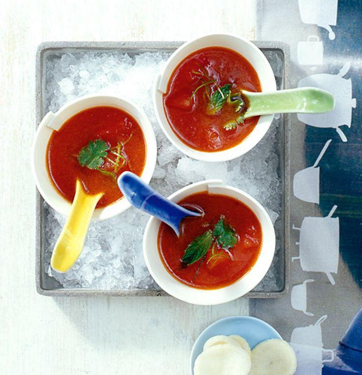 44 besten kalte suppen bilder auf pinterest kalte suppe eintopf und suppen. Black Bedroom Furniture Sets. Home Design Ideas
