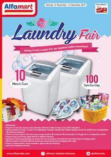 Cerita Mustika July: Promo Laundry Fair Alfamart Berhadiah 10 Mesin Cuc...