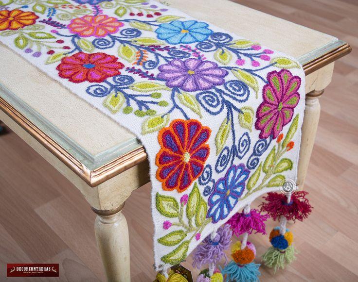 M s de 25 ideas nicas sobre caminos de mesa bordados en for Como hacer caminos de mesa modernos