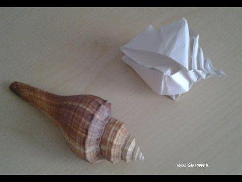 Origami spiral snail shell by Toshikazu Kawasaki - YouTube