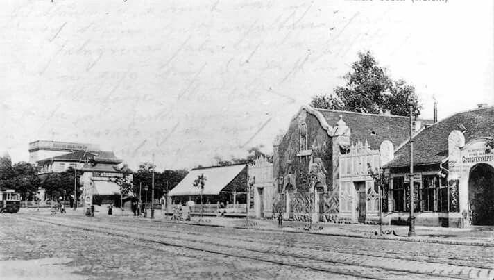1914. Városliget. Wurstli