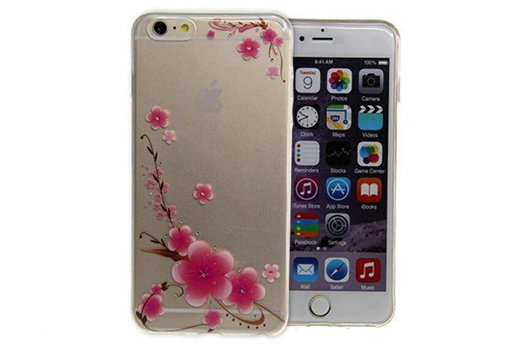 Carcasa de ramas de flores iphone 6
