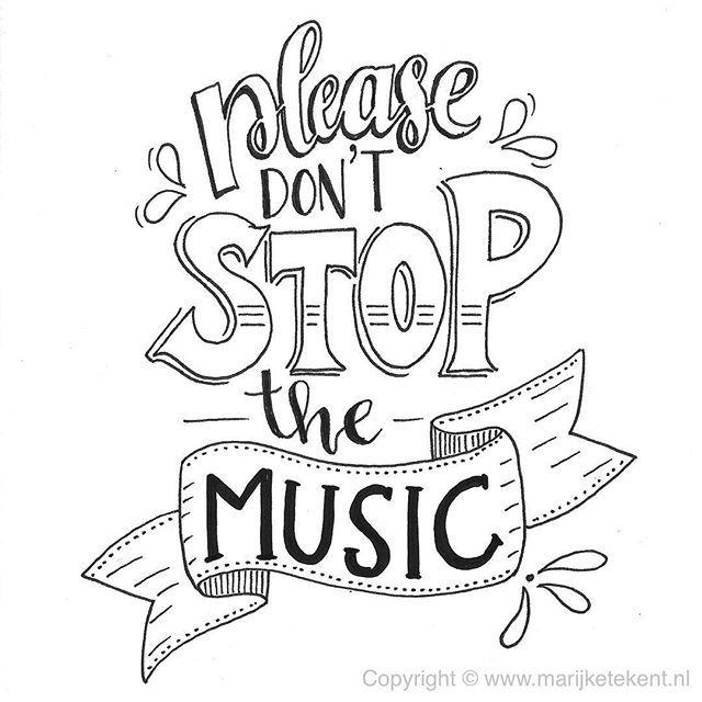 Por favor, não pare a música