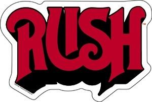 Rush Logo Sticker