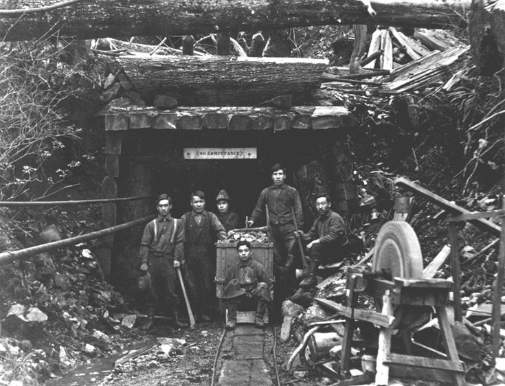 Japanese Miners in British Columbia in the early 1900's