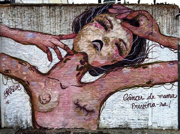 Seleção : 15 mulheres brasileiras que arrasam na arte do graffiti | VISUARTH | Pinterest | Art, Street Art and Graffiti art