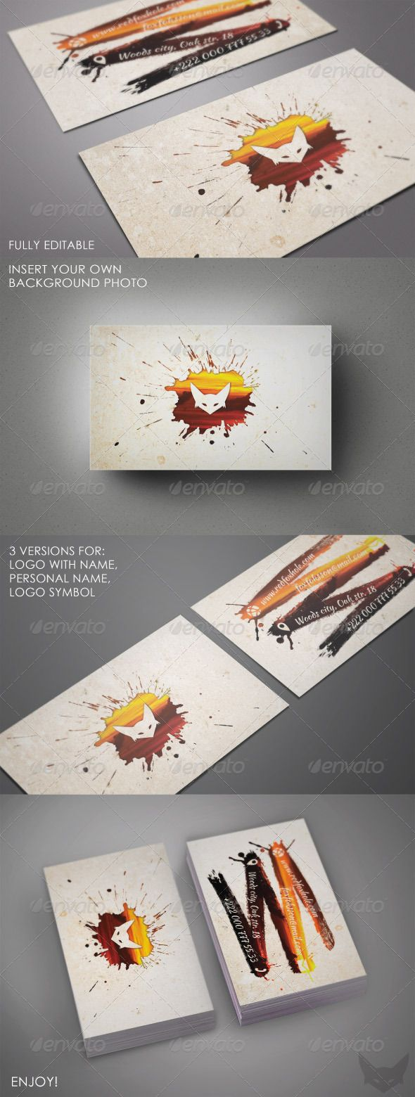 109 best print templates images on pinterest print templates ink artistic photo business card reheart Image collections