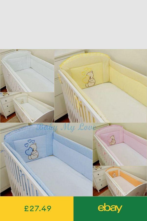Babybett Stossstangen Baby Ebay Bett Kinderzimmer Babybett Und
