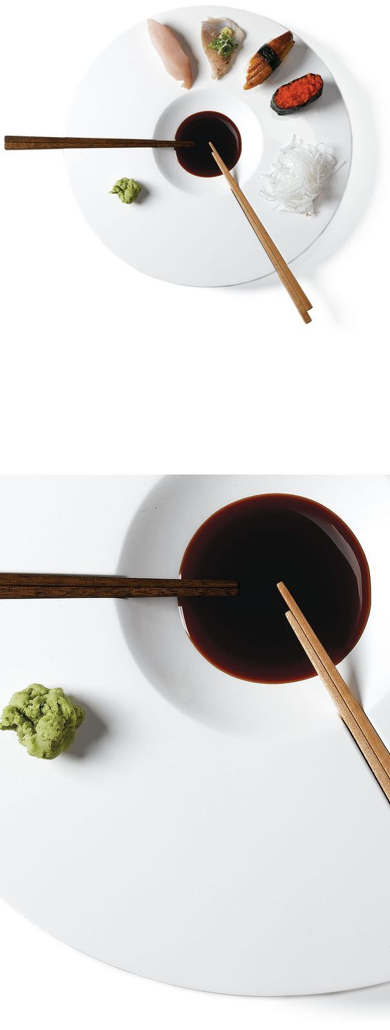 Products I love Perfect dip and eat sushi plate: