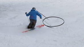 Level 4 instructor, Guy Hetherington, deconstructs bump skiing technique.