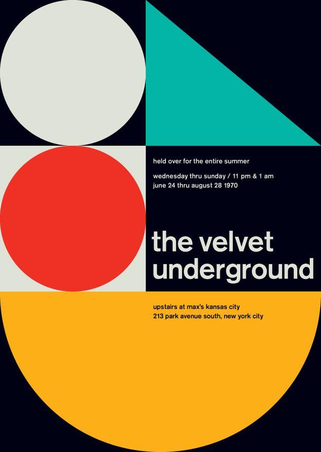 The Concert Poster As Art: The Velvet Underground, 1970