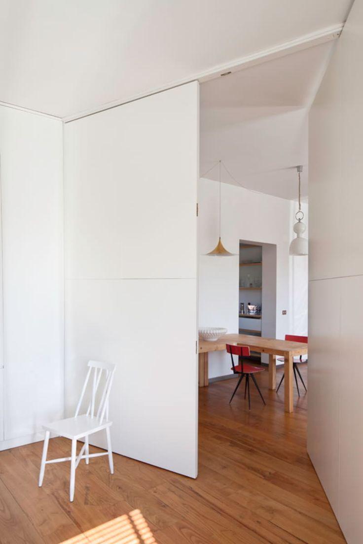 Gennaro Cassiani, Claudio Tajoli · Appartamento nel quartiere Pigneto a Roma
