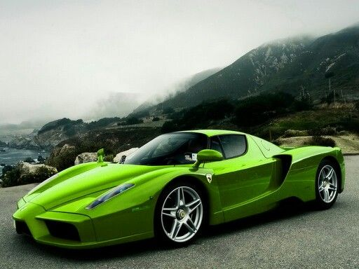 Lime green Ferrari | Cars | Pinterest | Ferrari, Limes and ...