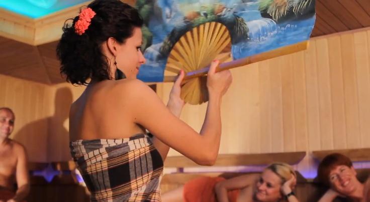 Aufguss w Termach Rzymskich #sauna #poland #czeladz #aufguss
