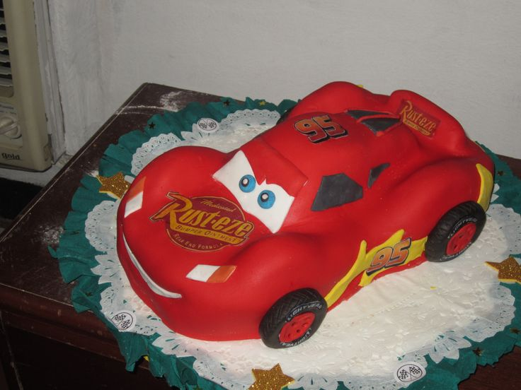 Cars Mc Queen/ Rayo Mc Queen Cars / Creaciones Reina Sofia Ciudad Ojeda Zulia Venezuela