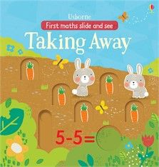 Usborne First Maths Slide and See Taking Away