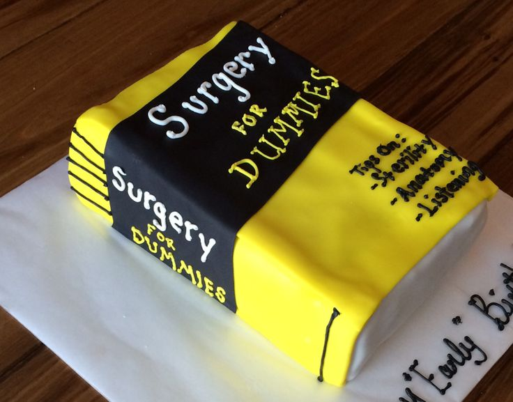 Everyone could use a little help sometimes. ... For dummies cake.