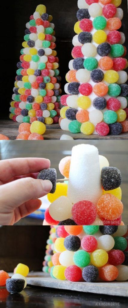 dées pour vous inspirer... Déco insolite avec des Bonbons.Voici pour Vous aujourd'hui 20 idées très sympa pour réaliser de superbes décorations avec des bonbons! Les enfants seront ravis... et les grands aussi...