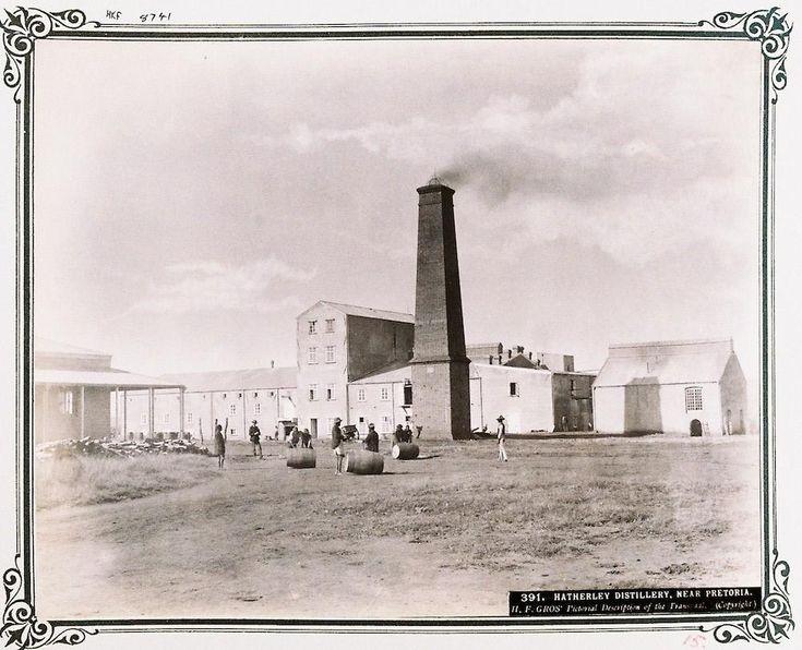Hatherley Distillery near Pretoria - HF Gros circa 1888