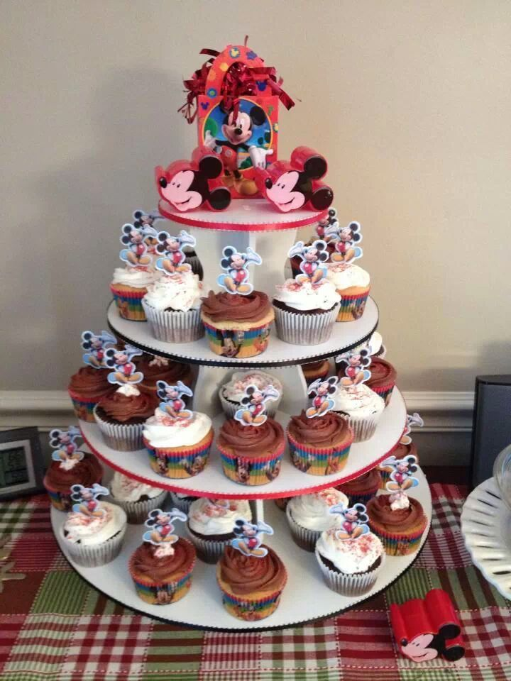 Mickey Mouse Cupcake Tower: http://www.thesmartbaker.com/products/5-Tier-Round-Cupcake-Tower.html