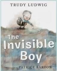 """Theme: kindness. -  """"The Invisible Boy"""" -  Meet Brian, the invisible boy. Nobody ever seems to notice him or think to include him in their group, game, or birthday party...until, that is, a new kid comes to class.    Minds and belief sets were changed through this lesson.    ► http://www.bookdepository.com/Invisible-Boy-Trudy-Ludwig/9781582464503/?a_aid=RippleKindness"""