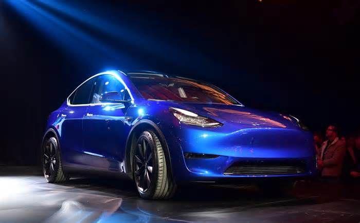 Tesla Model Y entdeckt in Kalifornien Bilder zeigen neue #Design Add-Ons #Designne …   – Design News