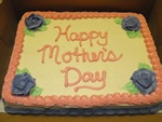 Mother's Day Sheet Cake: Mothers, Days Sweets, Sheet Cakes, Mother'S Day