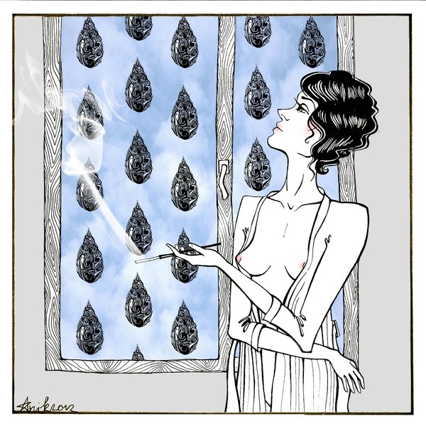 Randome illustration by Anna Sun, via Behance
