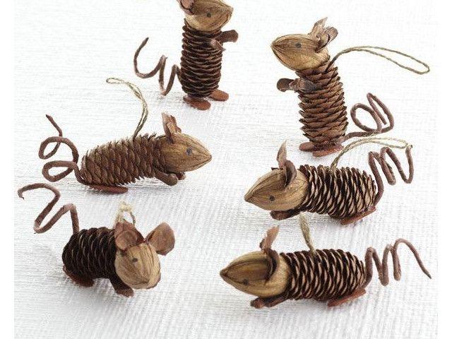 60 idées pour utiliser des pommes de pins dans sa déco de Noël Plus