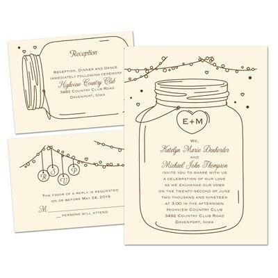 Blank Wedding Invitation Kits Michaels