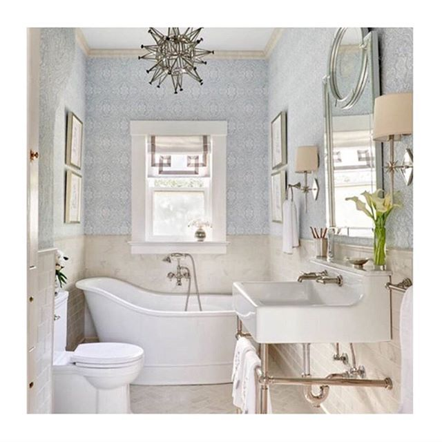 Images Of Room of the Day A Luxury Master Bathroom With a Historic Feel
