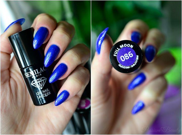 Passion&Beauty: Semilac - moje nowe kolory i 086 Full Moon na paznokciach