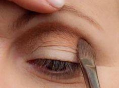 Make-up Slip auf Make-up – Lidfalte – schminken