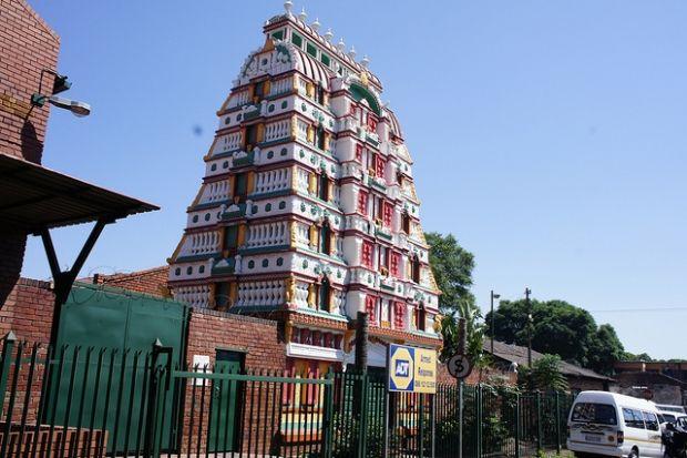 The Mariamman Temple, Marabastad is a Hindu temple in Marabastad, Tshwane: http://bit.ly/1CnW9Bz Image: Roy Volkwyn