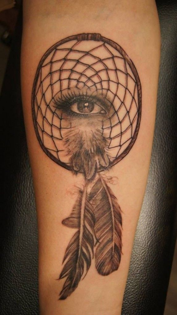 Eye For Design Bohemian Interiors And Accessories: 50 Dreamcatcher Tattoo Designs For Women